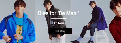 Oleg for 'Be Man '